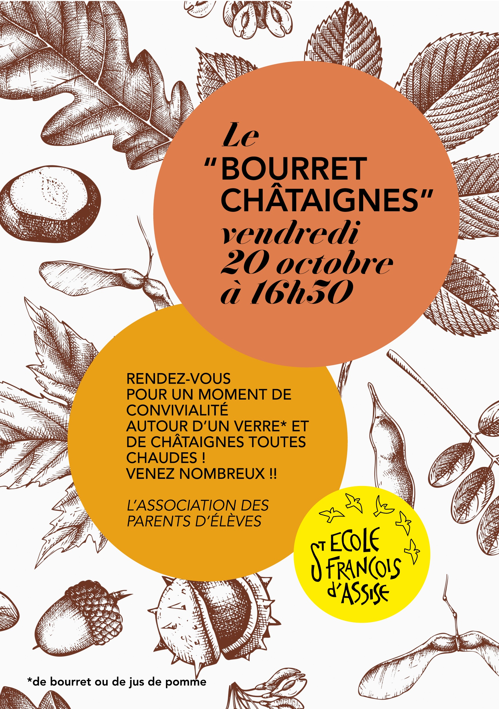 BOURRET CHATAIGNES 20 oct 17