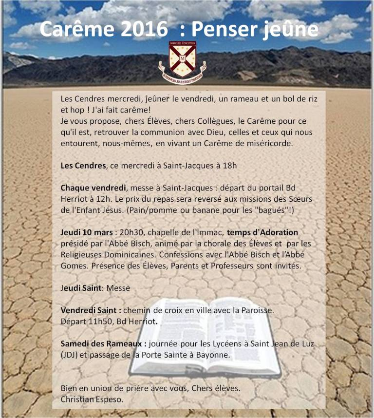 affiche careme2016 copie